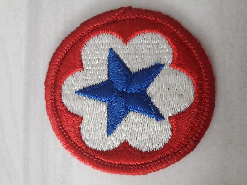 Army Service Forces shoulder sleeve insignia. (Author's Photo)