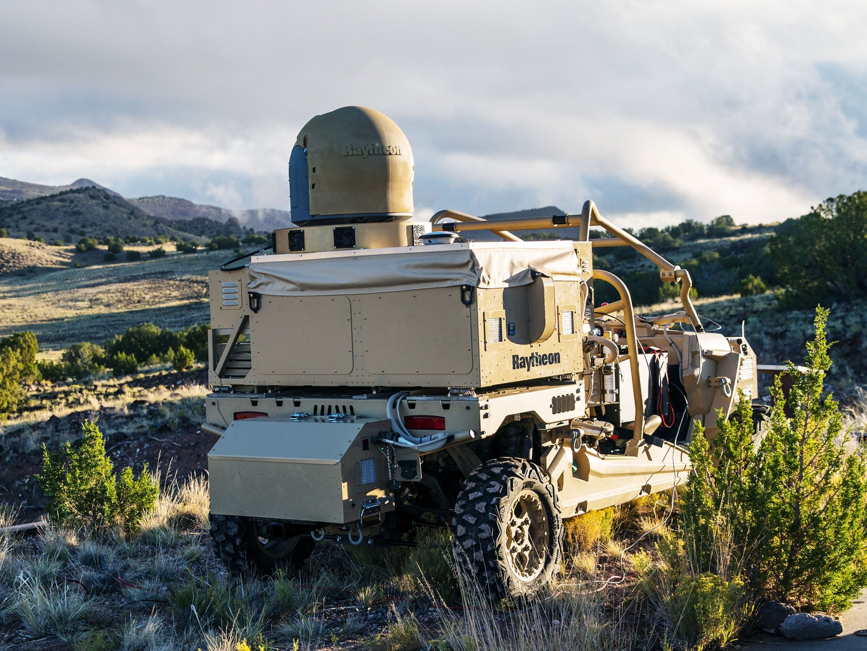 HELWS-MRZR (Raytheon/Wired)