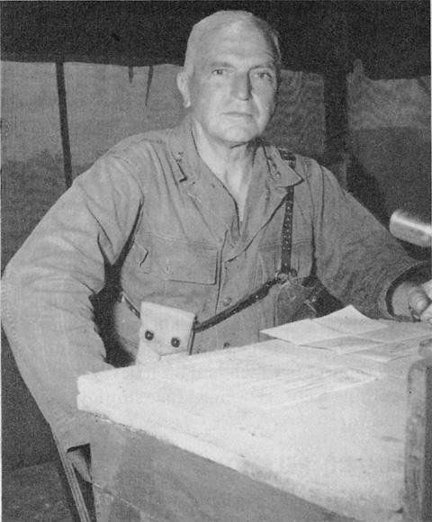 Lieutenant General Simon Bolivar Buckner was killed during the Battle of Okinawa. (Wikimedia)