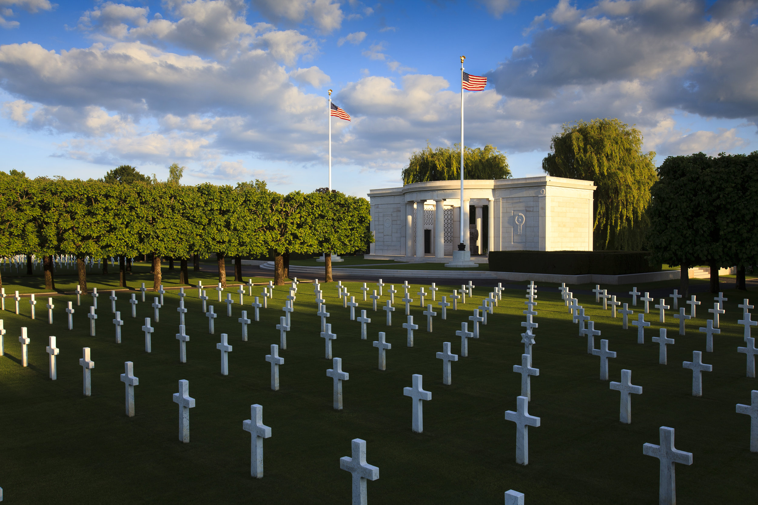 The chapel at St. Mihiel American Cemetery (American Battle Monuments Commission)