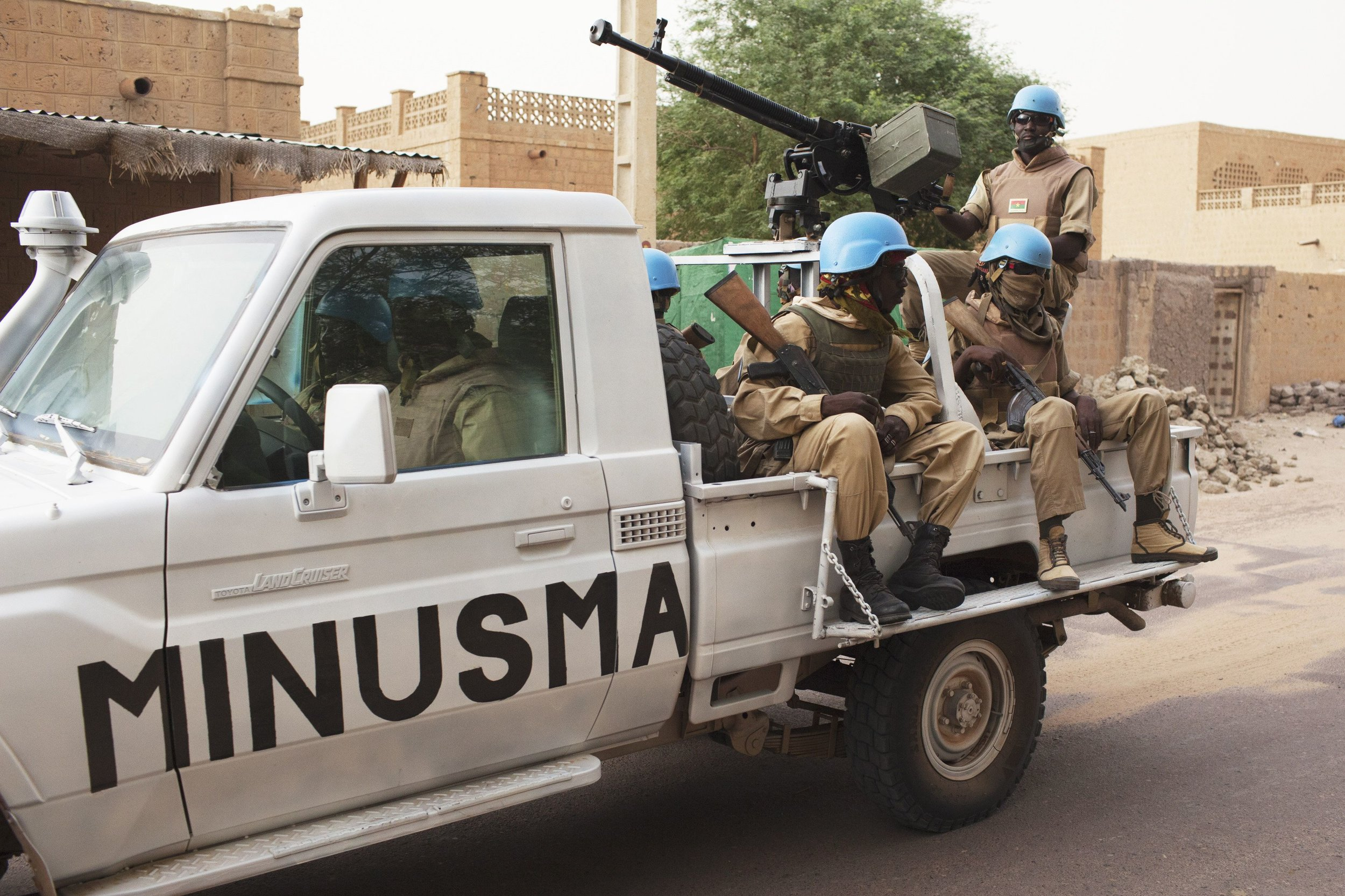 Mali UN peacekeeping forces (CGTN Africa)