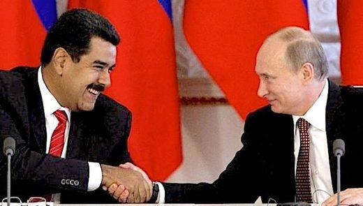 Nicolas Maduro and Vladimir Putin (Reuters)
