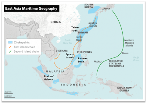 East Asia Maritime Geography (Stratfor)