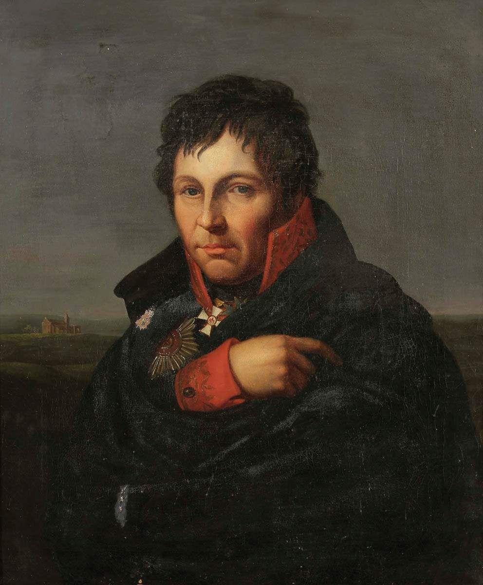"""""""Portrait of General Gerhard Johann David von Scharnhorst"""" by Friedrich Bury (Wikimedia)"""