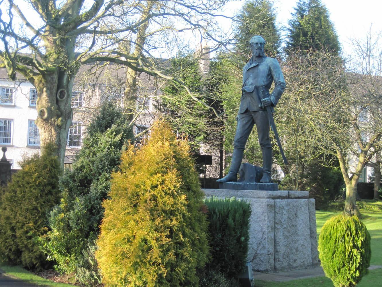 Brigadier John Nicholson statue at the Royal School Dungannon (RSD)