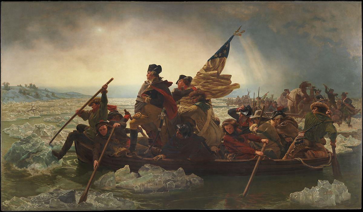 """Washington Crossing the Delaware"" by Emanuel Leutze"