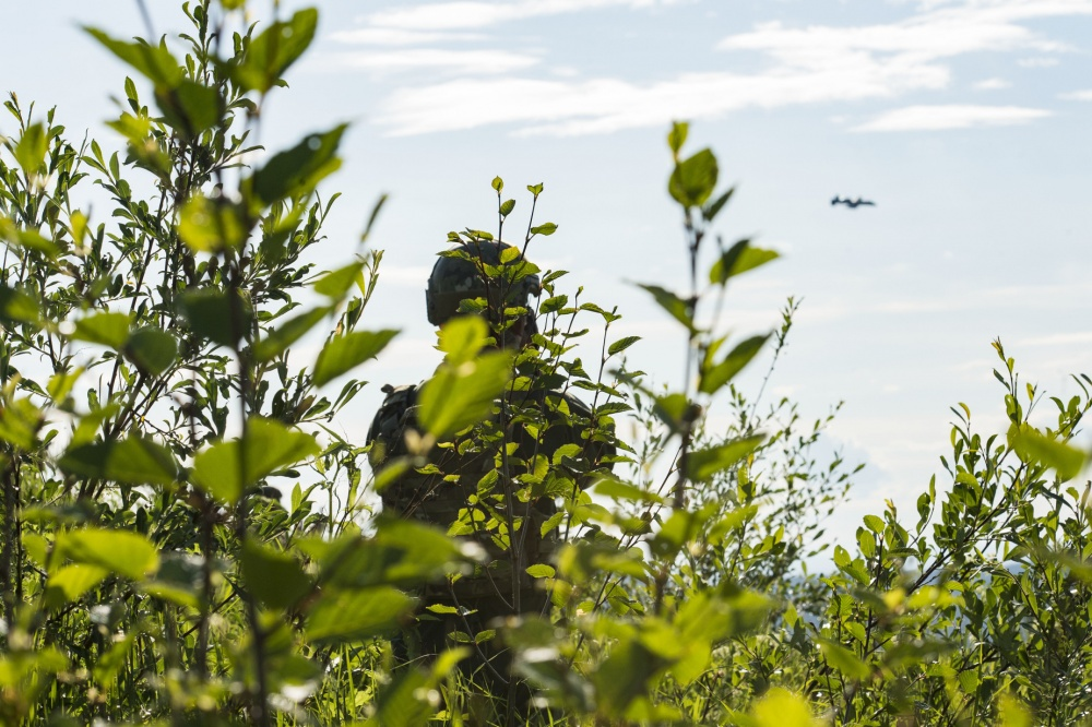 Photos of an A-10 Thunderbolt II during a close air support training mission during RED FLAG-Alaska 19-2 at Eielson Air Force Base, Alaska, June 19, 2019. (SrA Kristen Heller/USAF Photo)