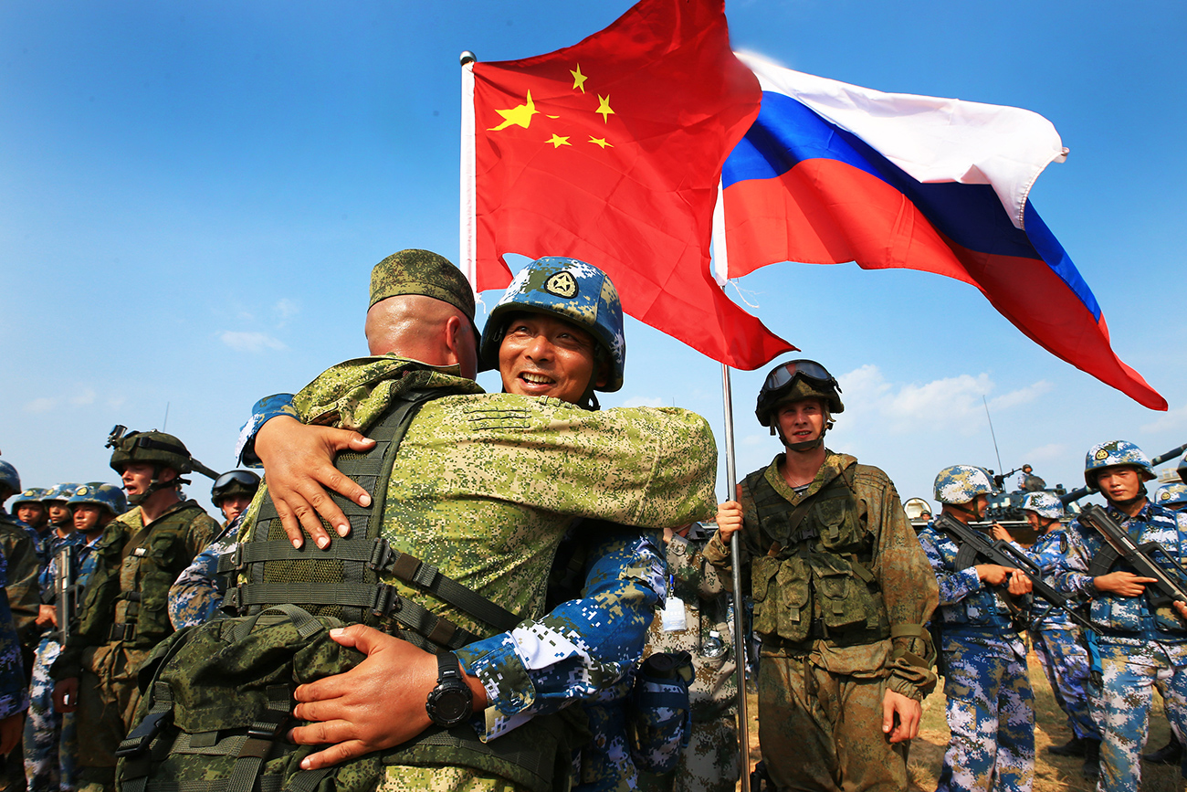 Russia and China collaborated in Vostok 2018 (Zuma Press)