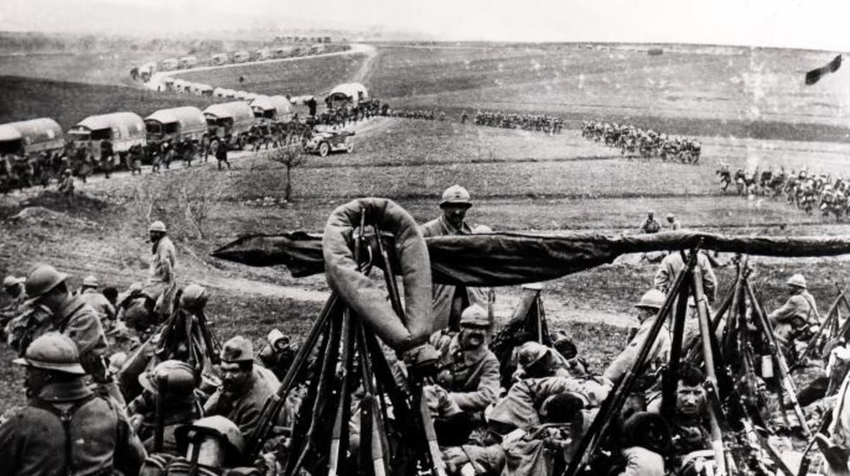 The Sacred Way, Verdun. (UIG/Getty Images)