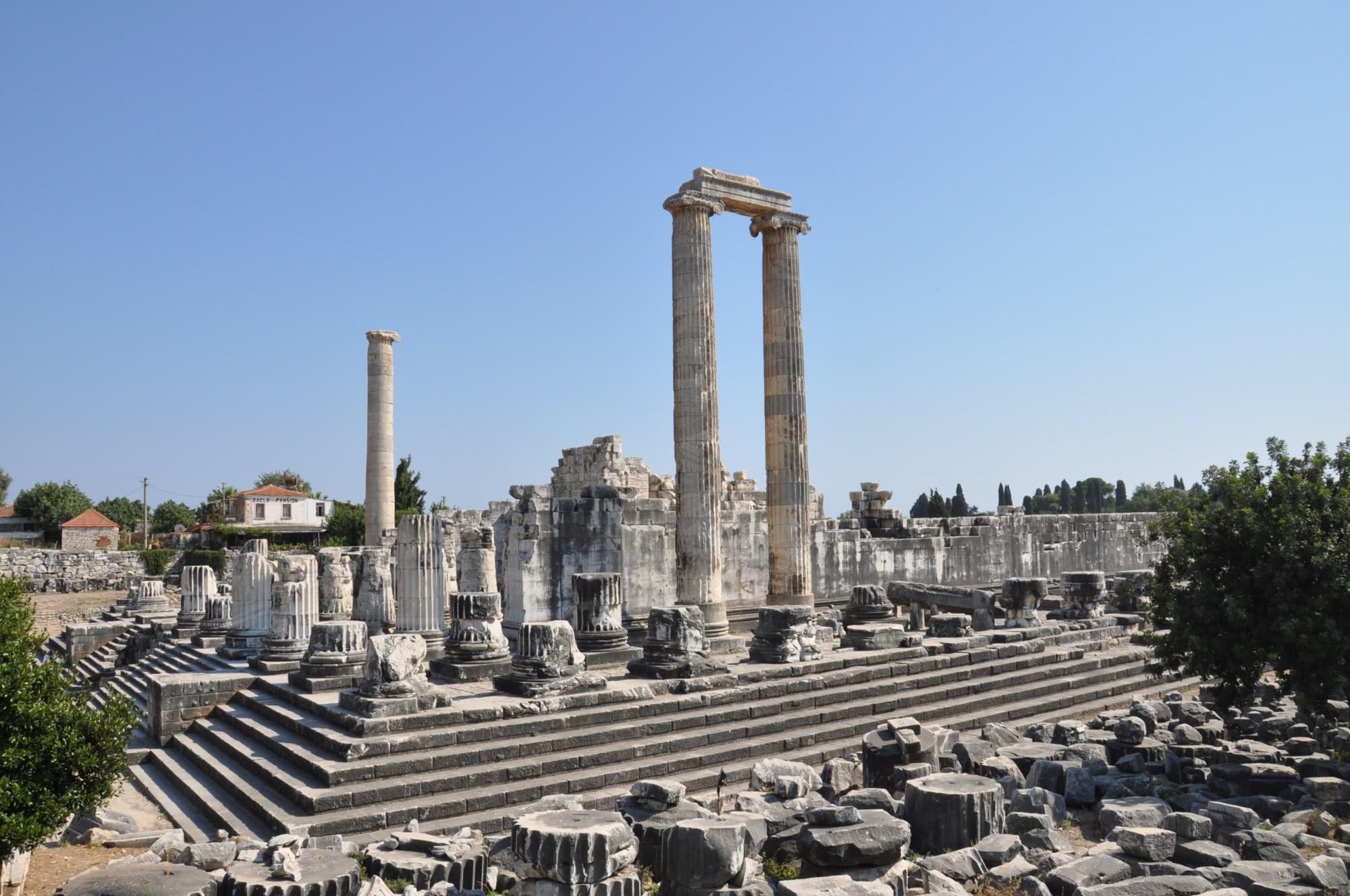 Temple of Apollo at Didyma, Turkey (Turkish Archaeological News)