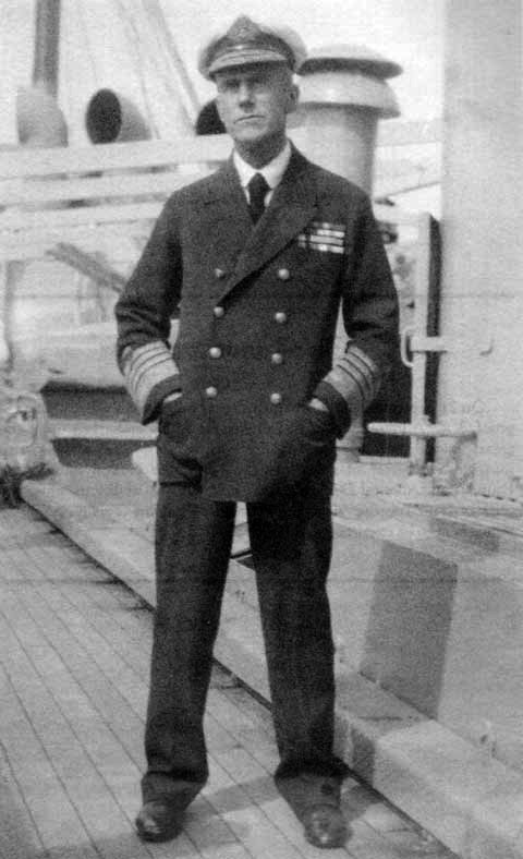 Admiral Sir Lewis Bayly, Commander in Chief, Western Approaches, during the joint British-U.S. antisubmarine campaign in World War I. (Wikimedia)