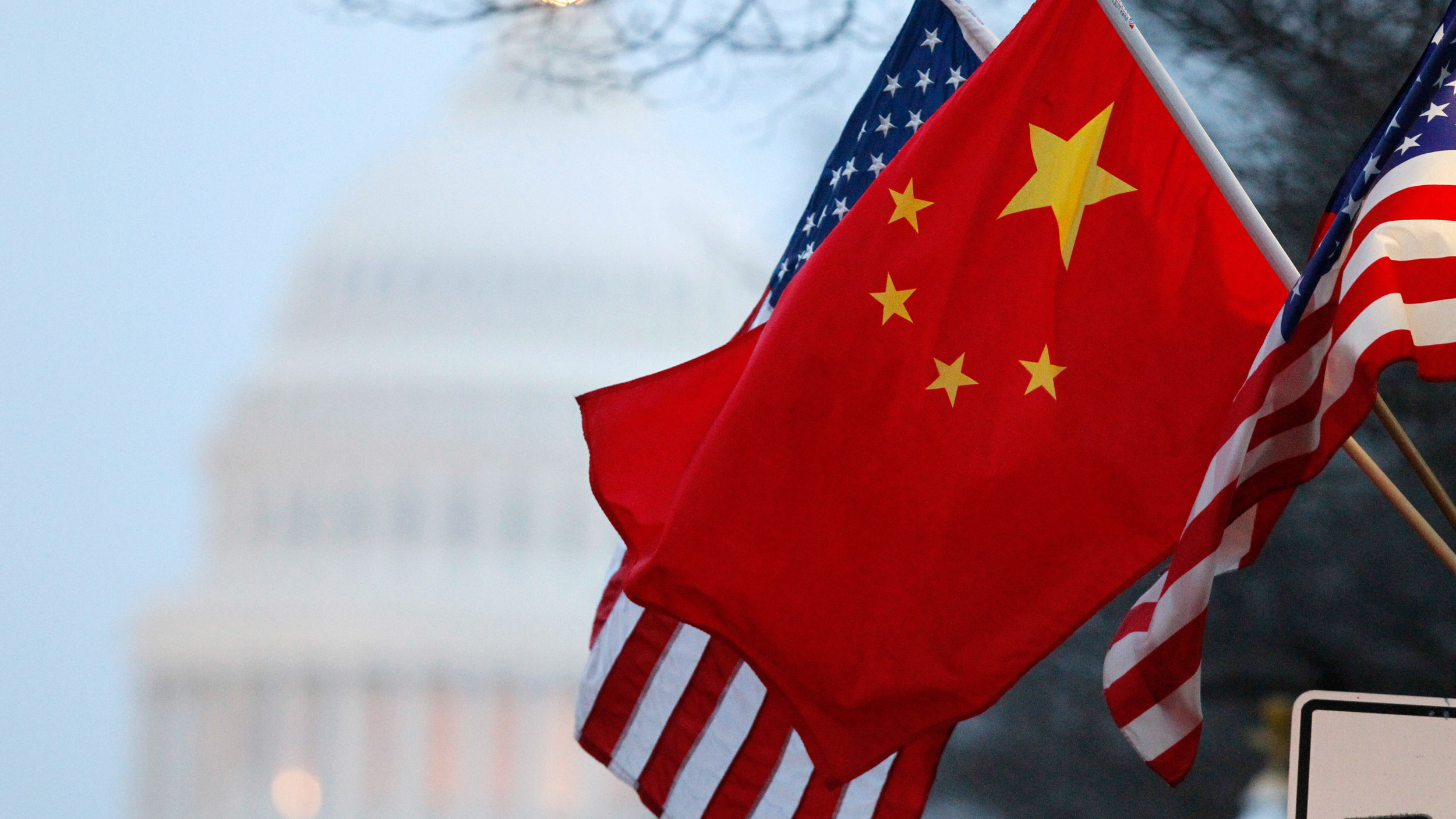 U.S. and Chinese Flags (Council on Foreign Relations)