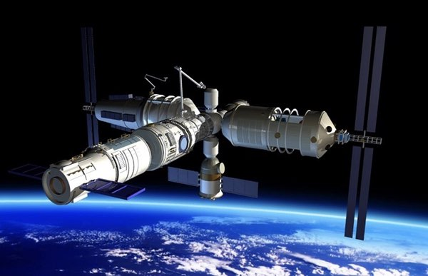 Illustration of China's proposed space station. (CNSA)