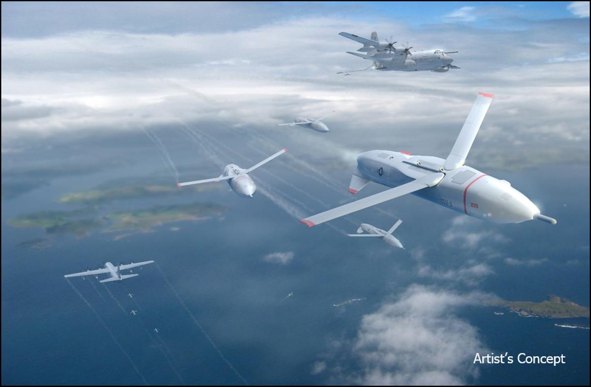 An artist's concept for autonomous air weapons (Air Force Times)