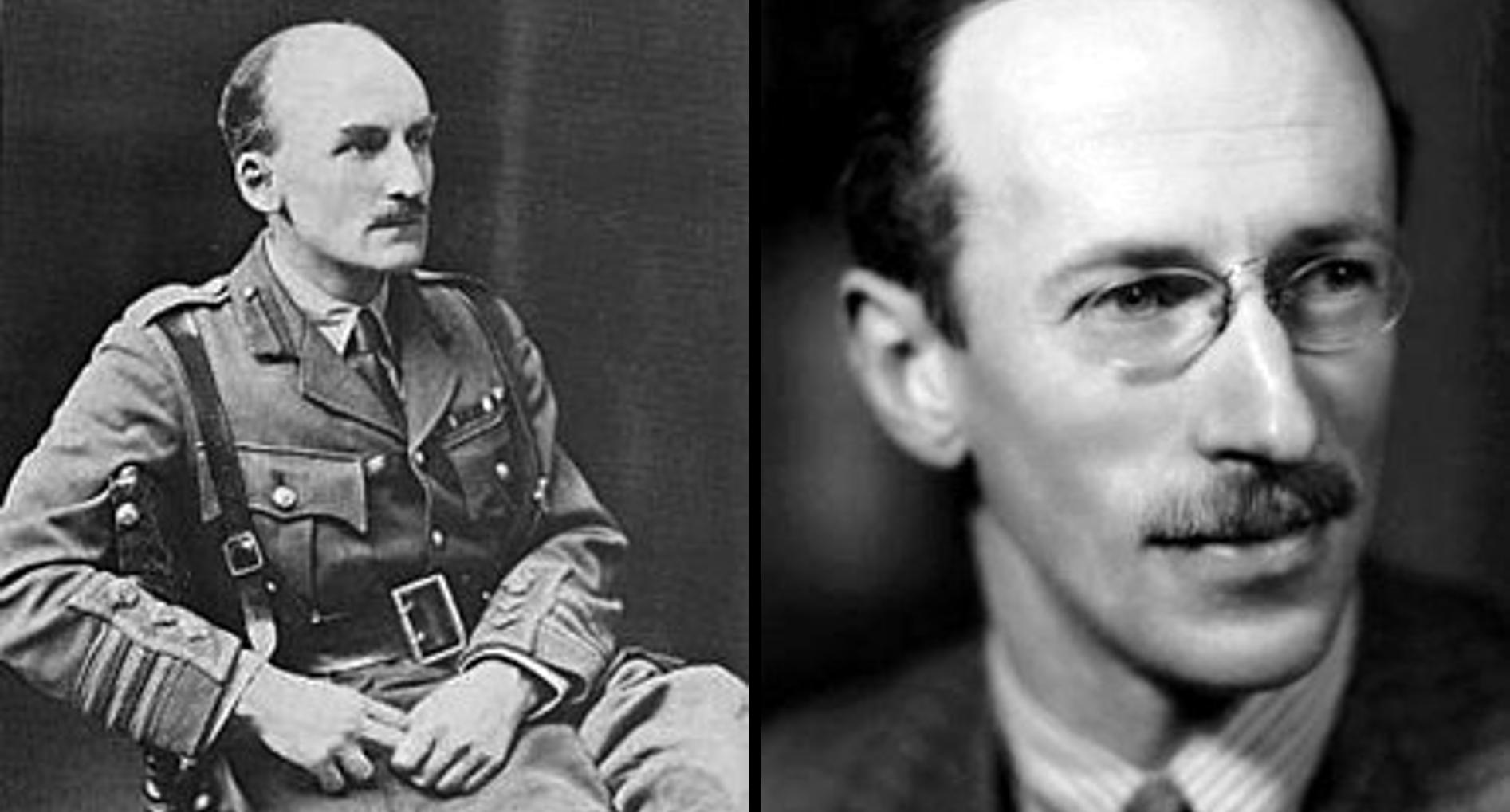 J.F.C. Fuller and B.H. Liddell Hart (Wikimedia)