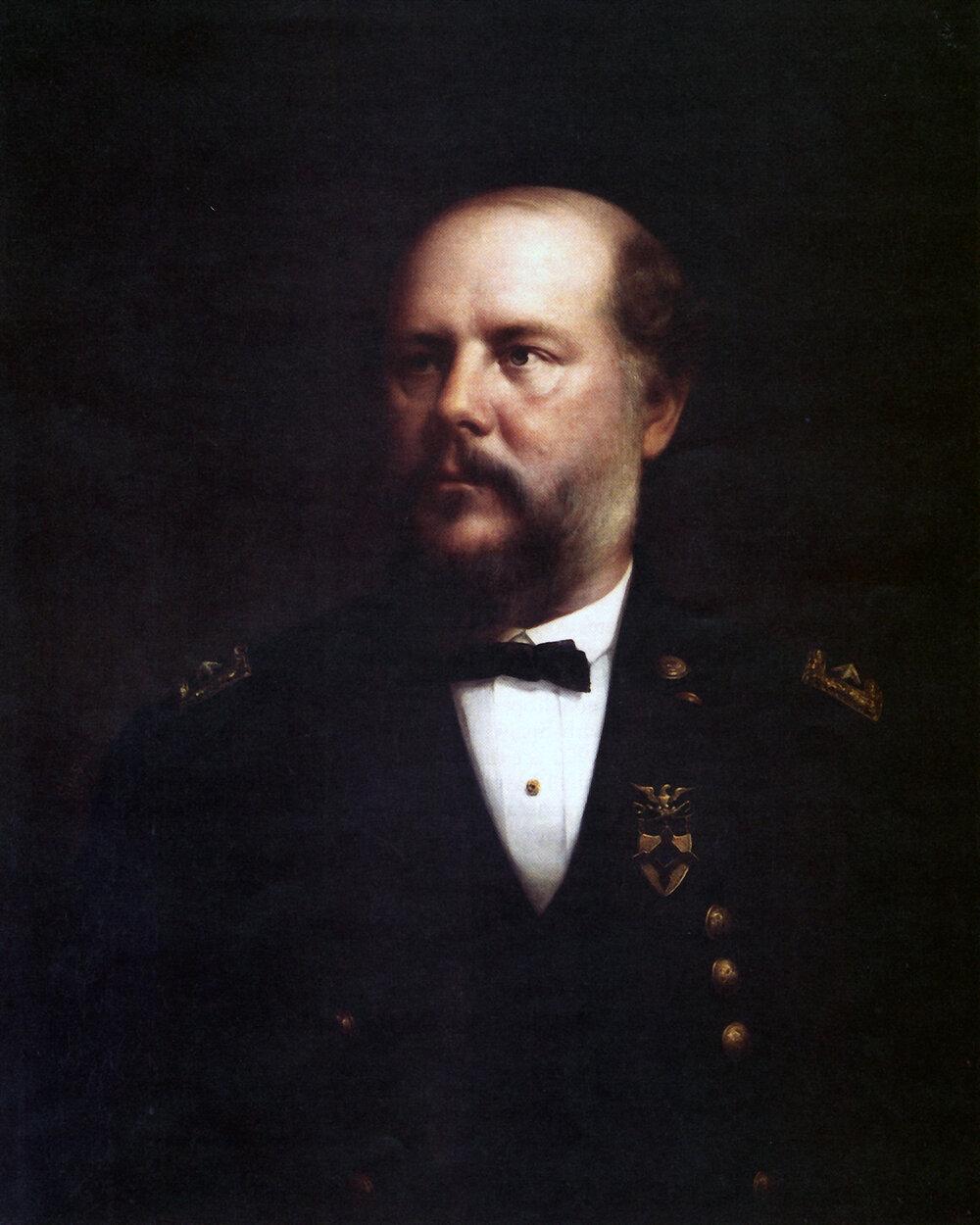 Schofield Official Portrait by Stephen William Shaw (Wikimedia)