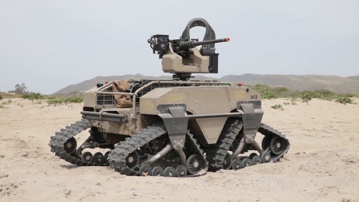 Armed unmanned ground vehicle (Military & Aerospace Electronics)