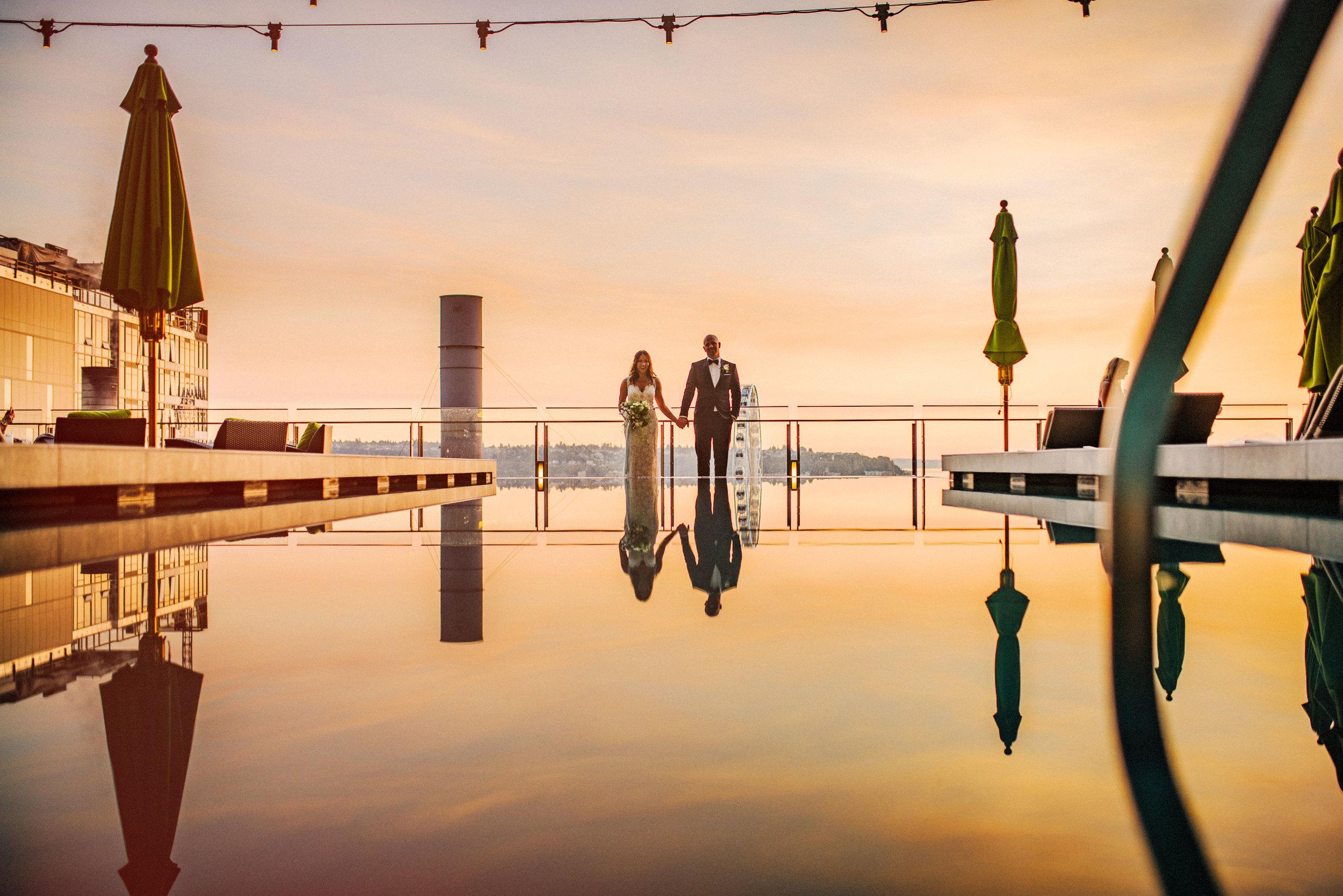 Erin & Tommy - Four Seasons Hotel, Seattle