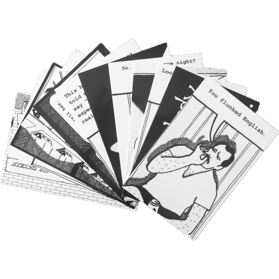 Butcher Paper Post Cards