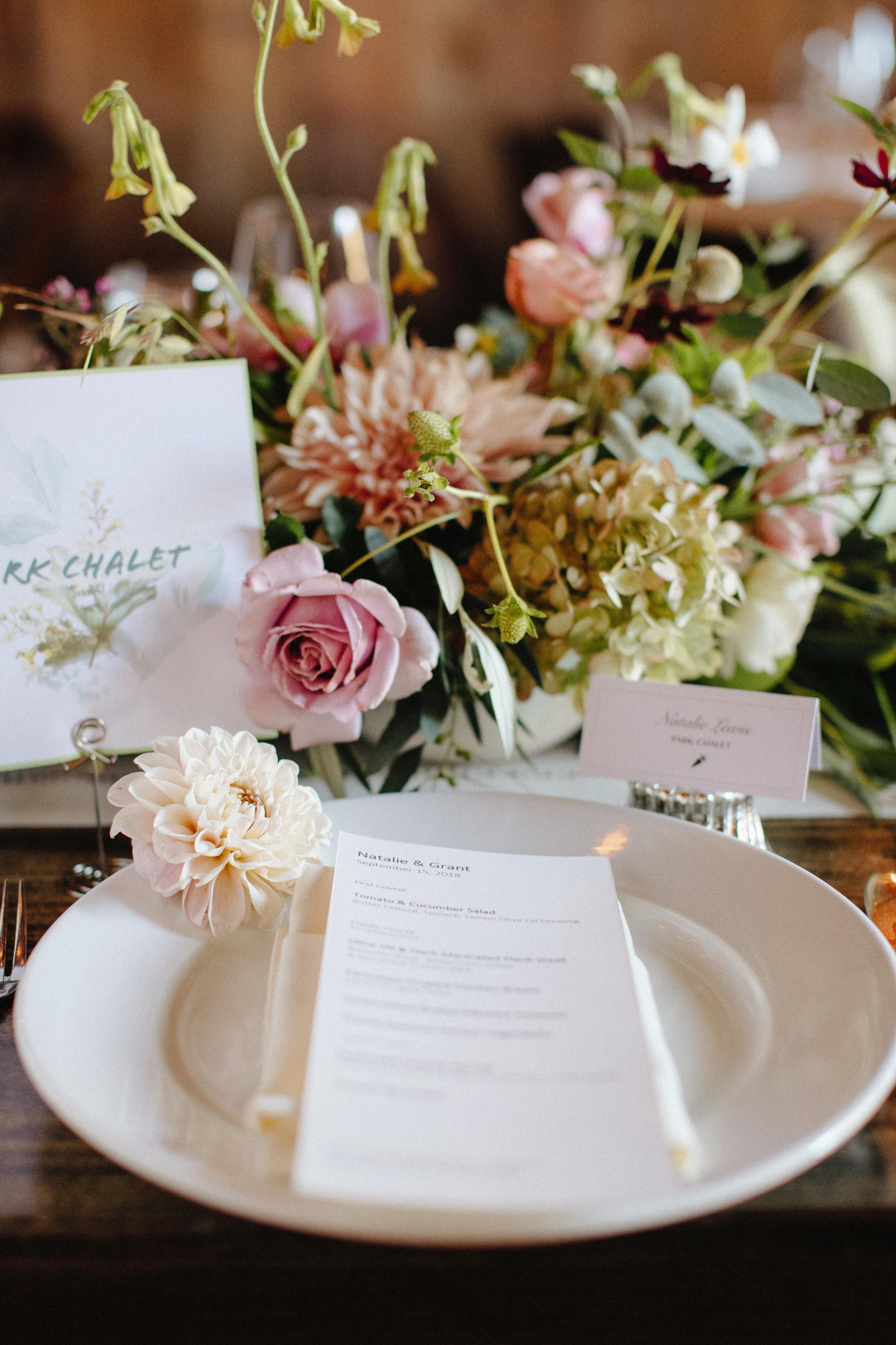 Olympia's Valley Estate September Wedding