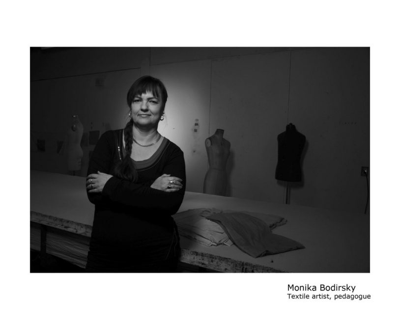 Monika Bodirsky was born and raised in Canada to Roma parents. She is an artist and teacher at the Ontario Colelge of Art and Design University and Sheridan College. (CHAD EVANS WYATT PHOTO)