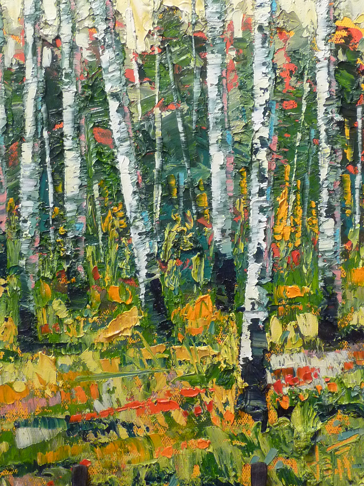 "Oil on canvas 12"" x 12"""