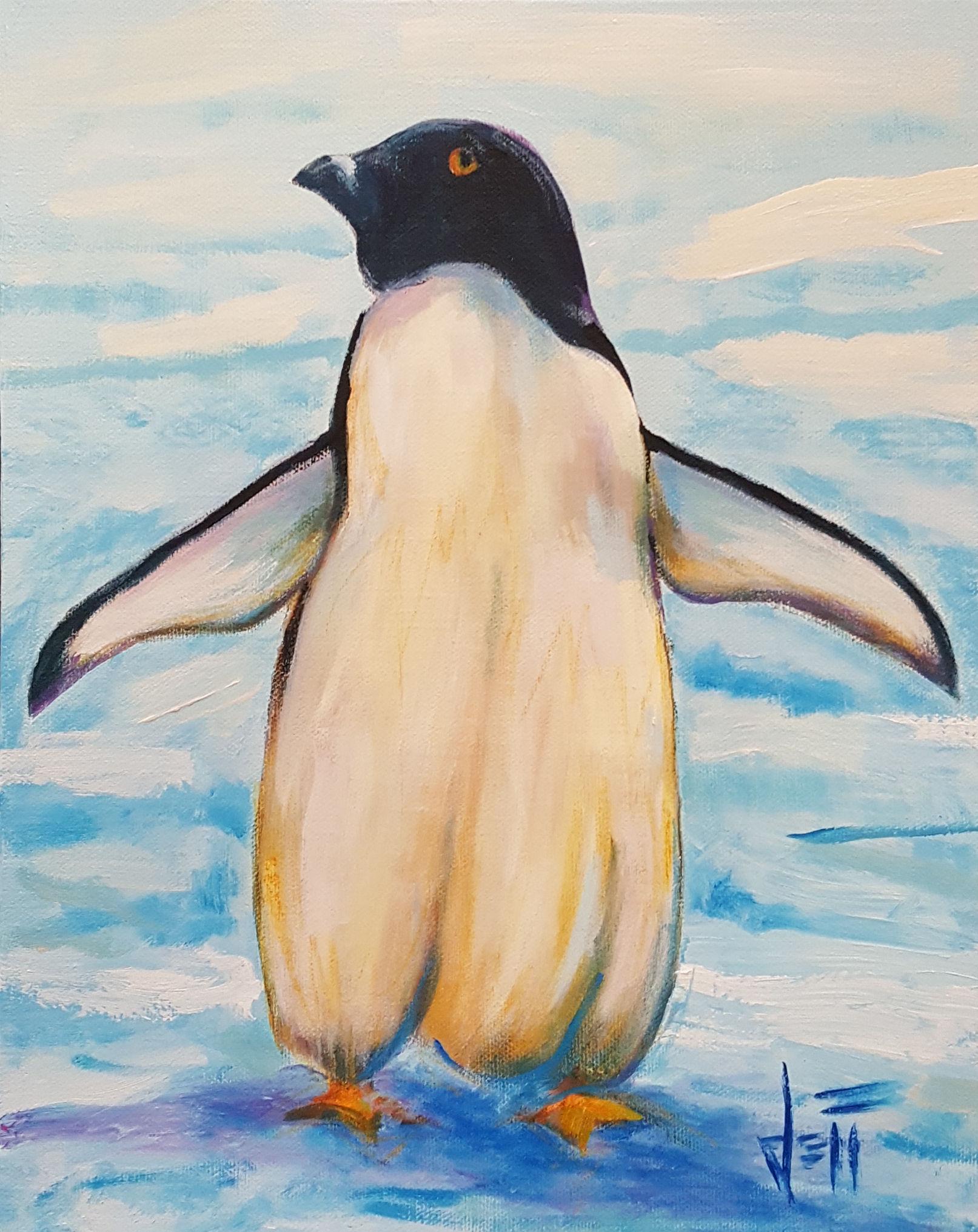 """Acrylic on canvas 14"""" x 11"""""""