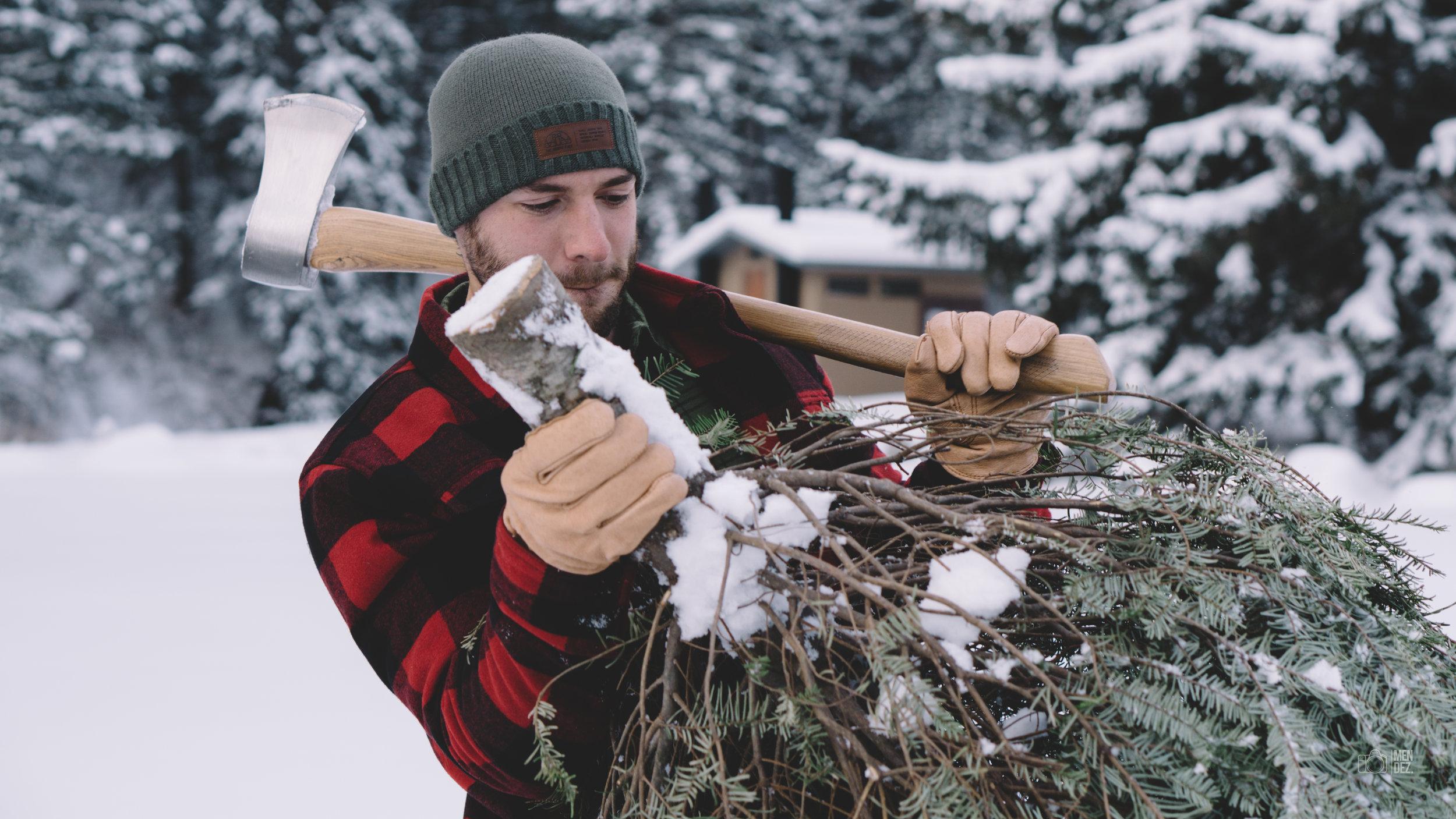 Esteban, Reindeer Games Photoshoot Location   December 2016