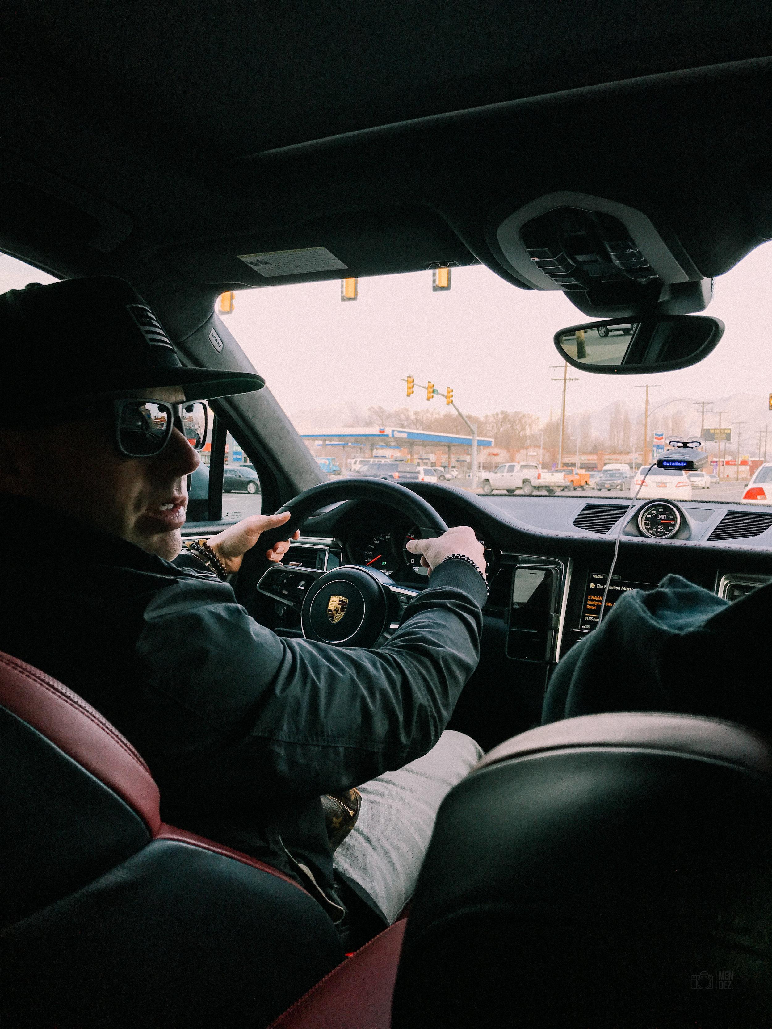 The Boss aka Papi ft Porsche Macan Turbo   December 2016