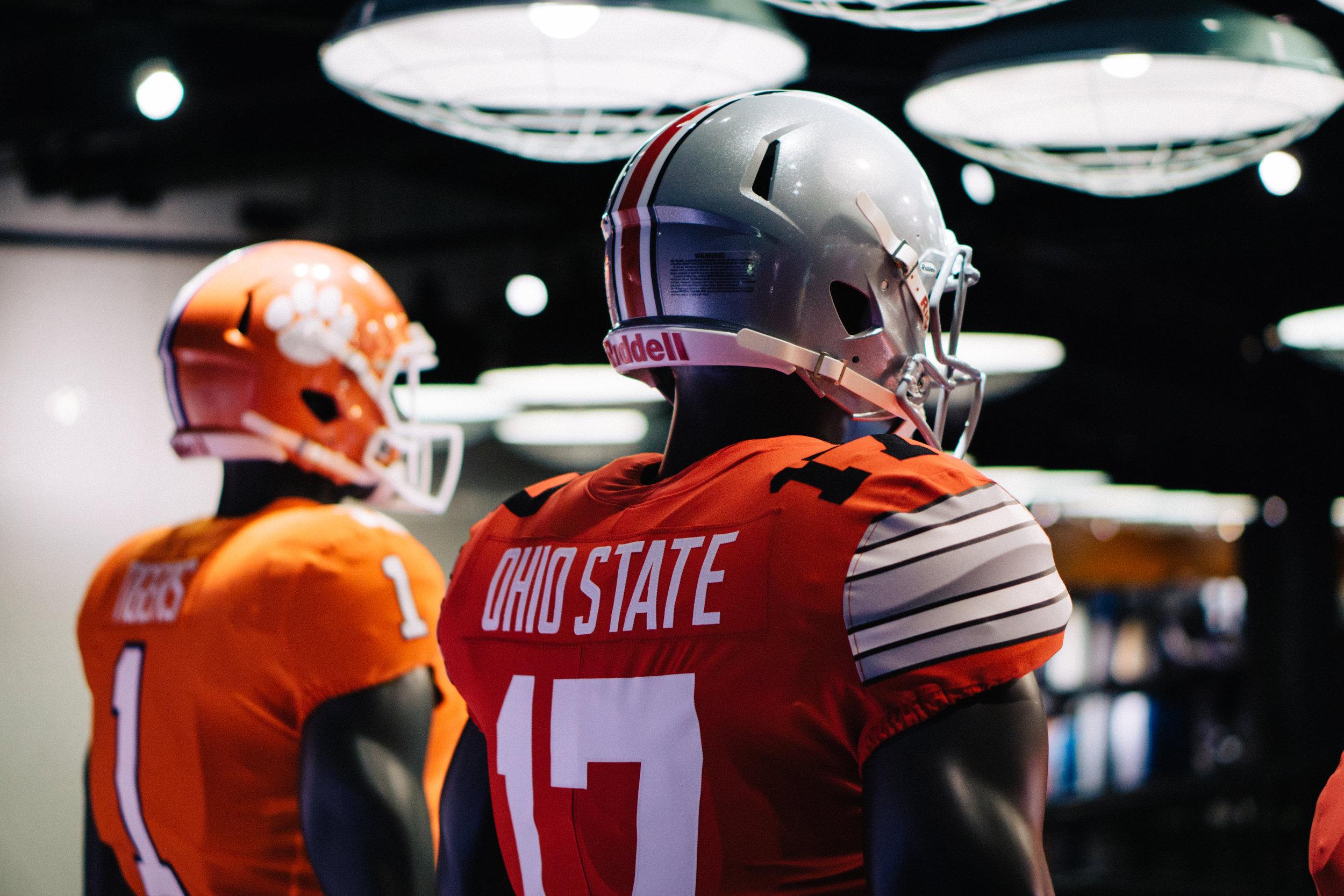 12.30.16 | Ohio State vs Clemson Display at Nike Town - Vegas