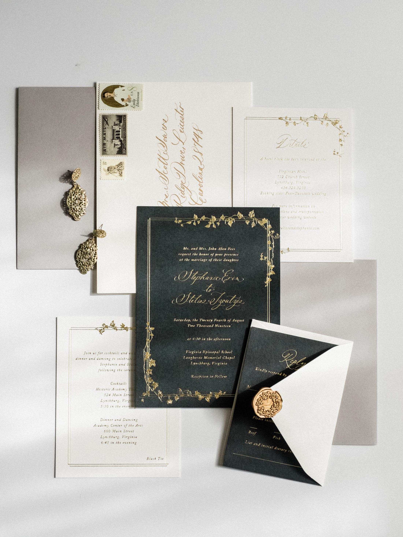little carabao studio custom invitation