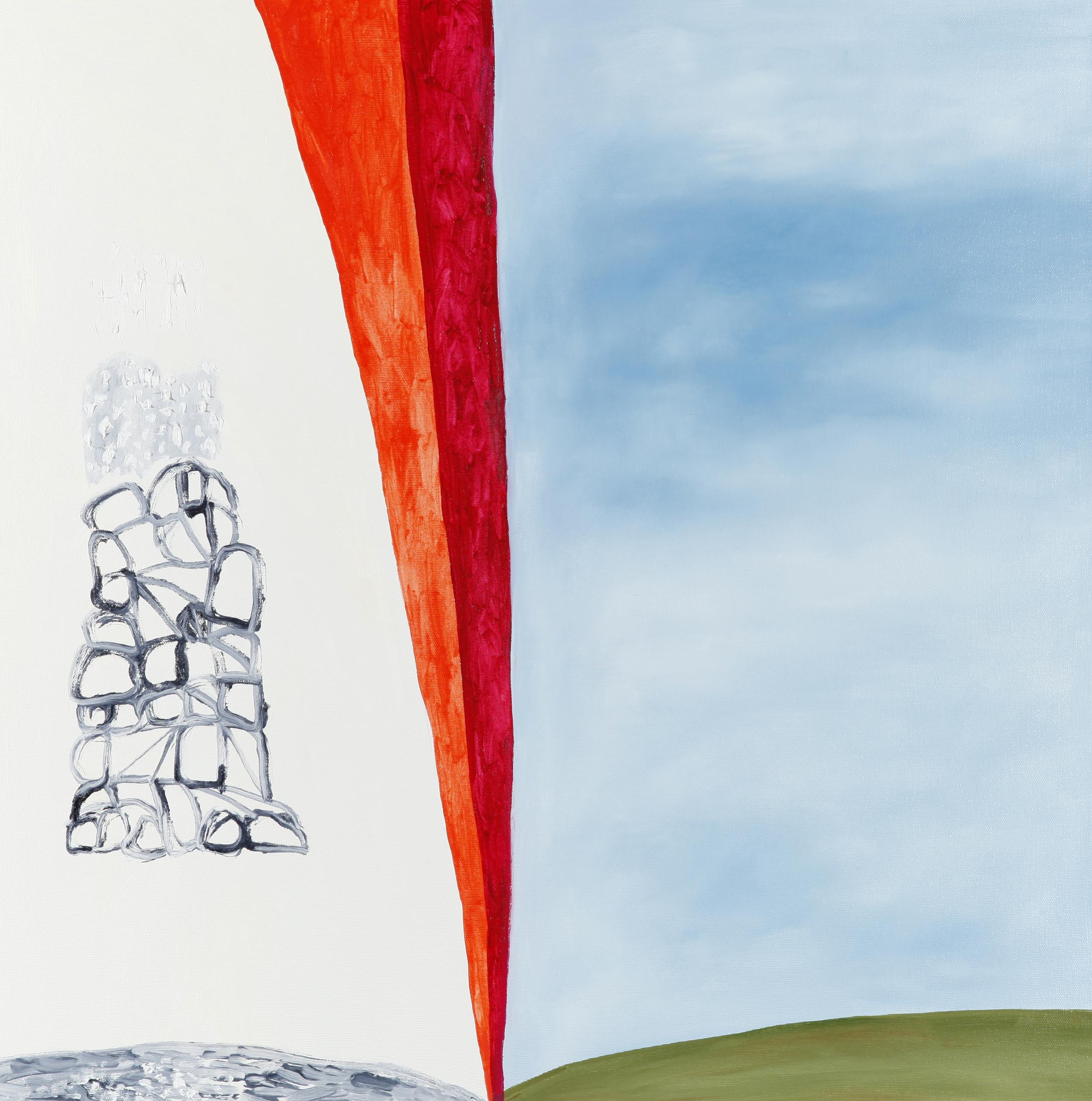 "oil on canvas 24"" x 24""  2014"