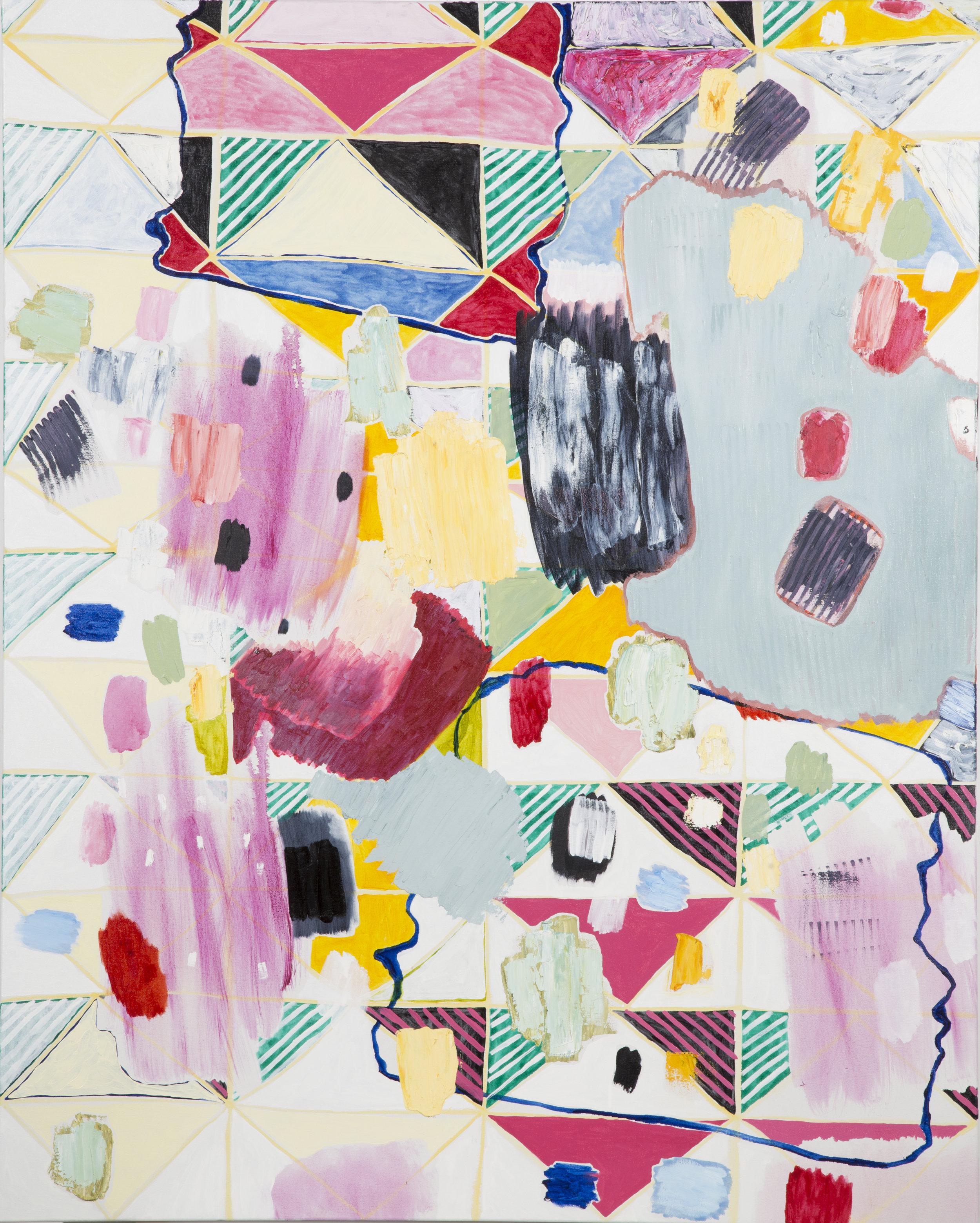 "oil on canvas  60"" x 48""  2016"