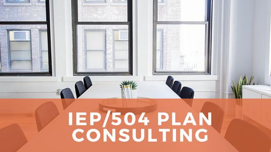 504 Plan Development