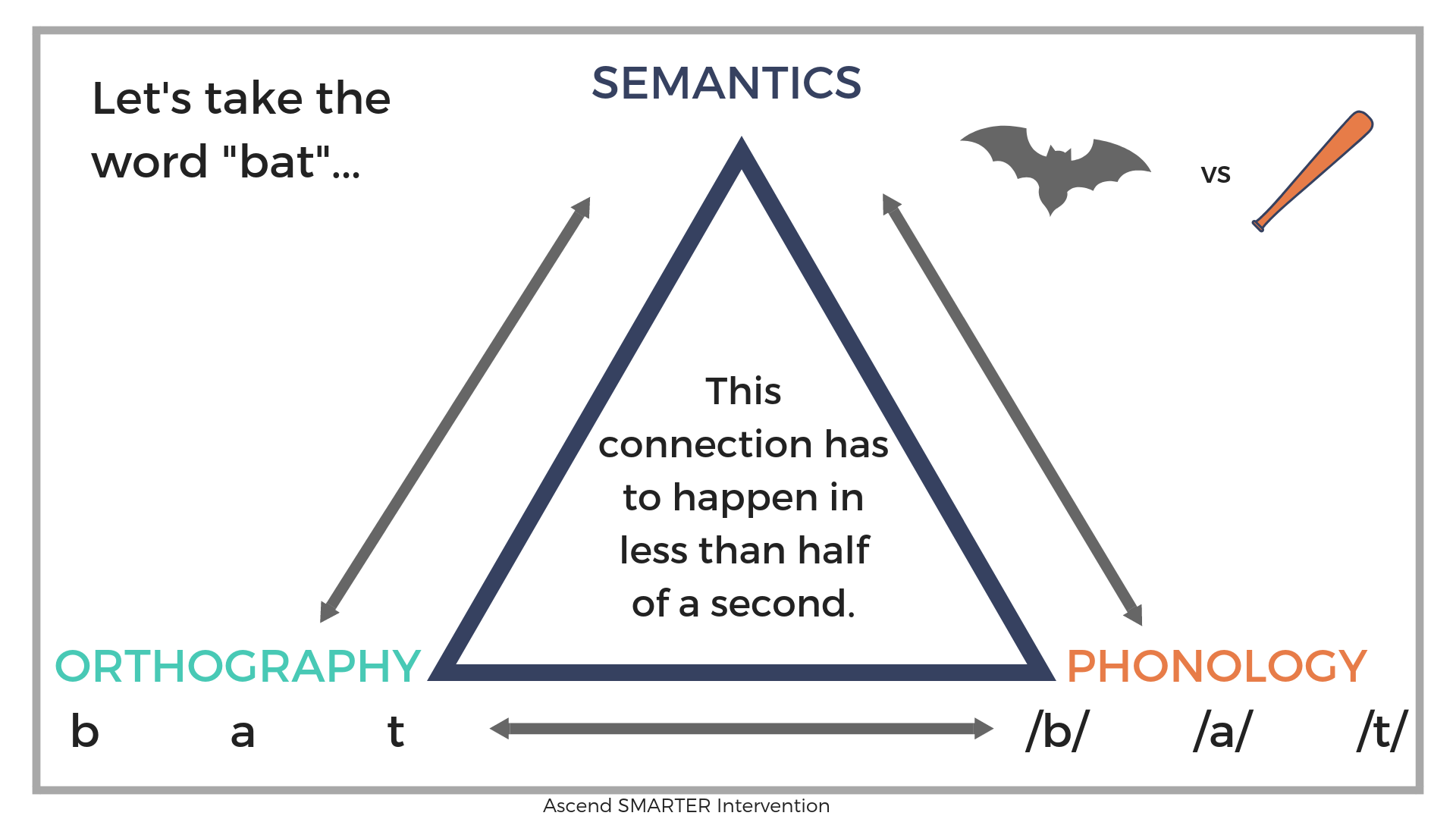 Literacy Processing Triangle