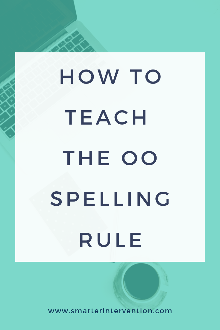 OO is a vowel team that has two sounds. We use the key phrase Look at the Moon to help our students learn.