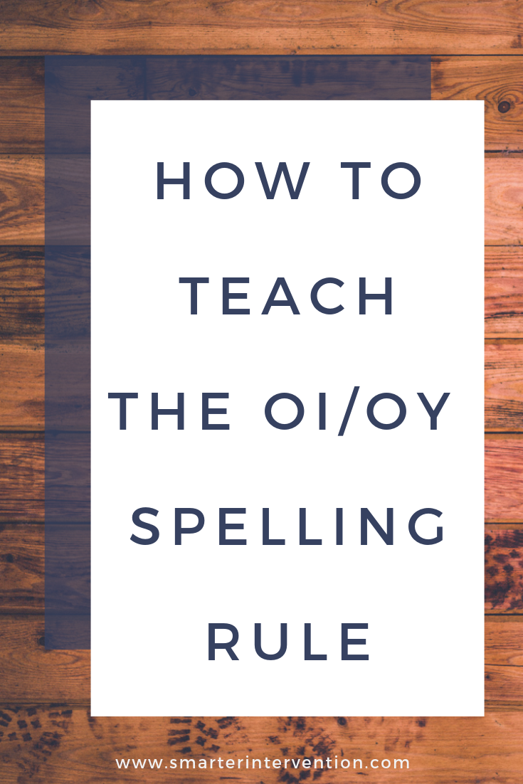 OI & OY both say /oi/ like in foil and boy. We use these games/activities to help our students learn this vowel team!