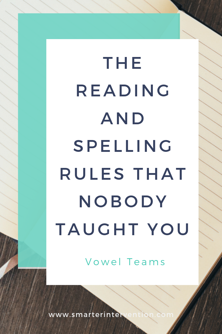 Teaching Vowel Teams to struggling readers can be tricky - especially when they have so many rules that nobody taught YOU! Read on to see what kind of activities we use with our dyslexic students to help teach them the vowel team spelling rules.