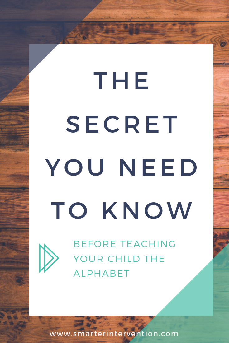The Secret You Need To Know Before Teaching Your Child The