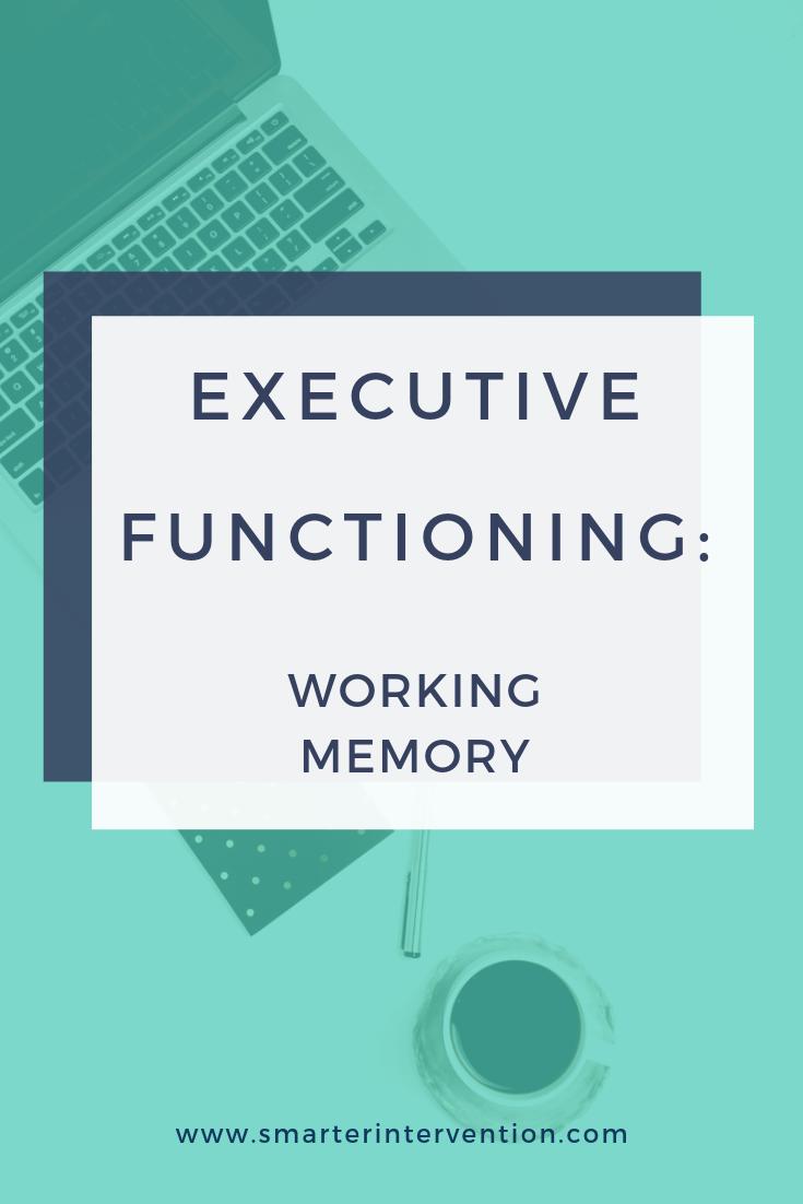 EF Working Memory
