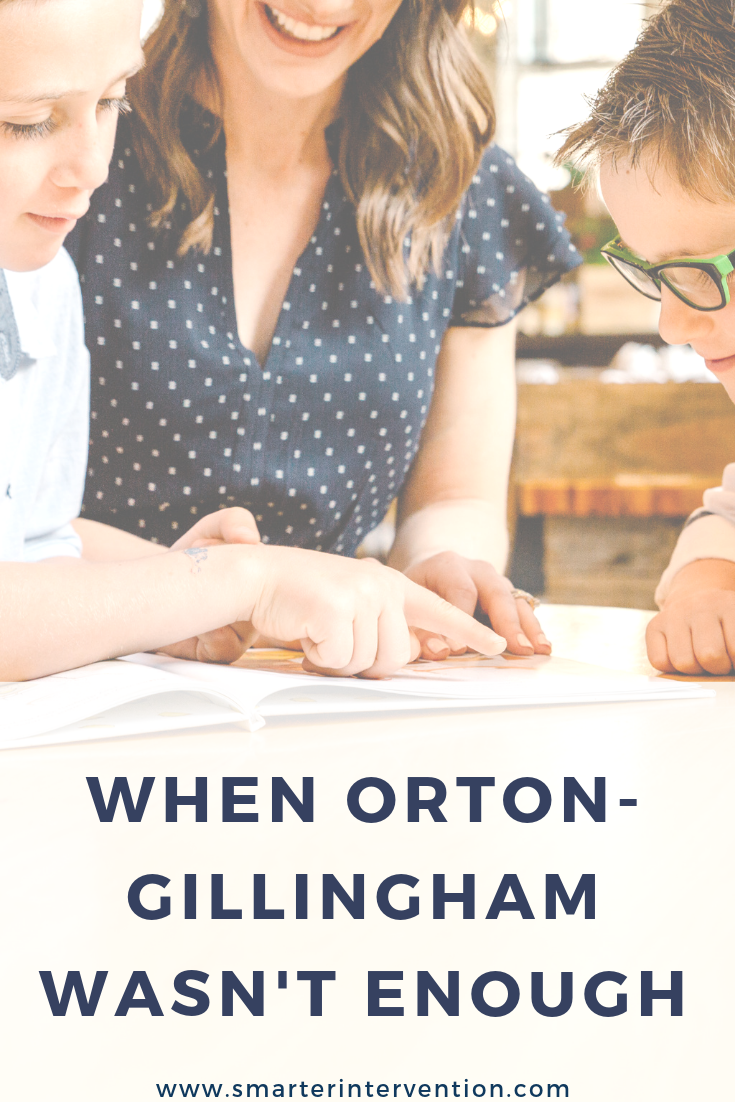 Orton-Gillingham wasn't enough for my students. I spent years following programs with fidelity, creating individualized lesson after lesson, game after game, and thousands of activities. Here's how I made OG actually work for me and my students.