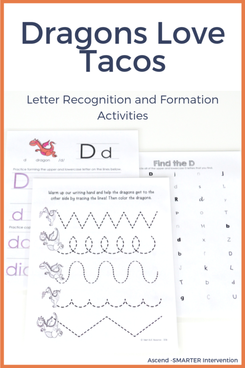 Dragons Love Tacos Orthographic Knowledge