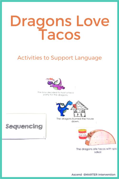 Dragons Love Tacos Language Activities