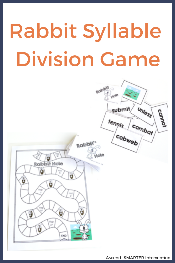 Syllable Division Games