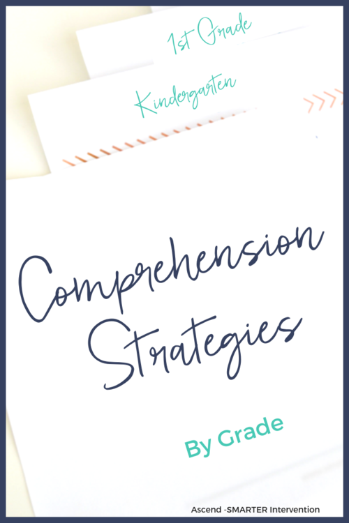 Reading Comprehension Strategies by Grade