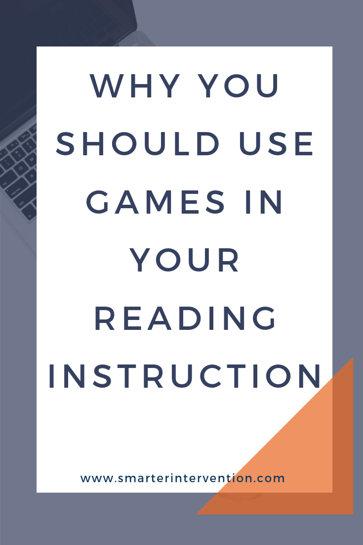 """We've learned that by turning simple reading tasks into games it will provide students with the repetition they need to see success. We try to turn EVERYTHING into games and you'd be surprised because even those of you with older students will see that they enjoy this """"gamification"""" of instruction as well."""
