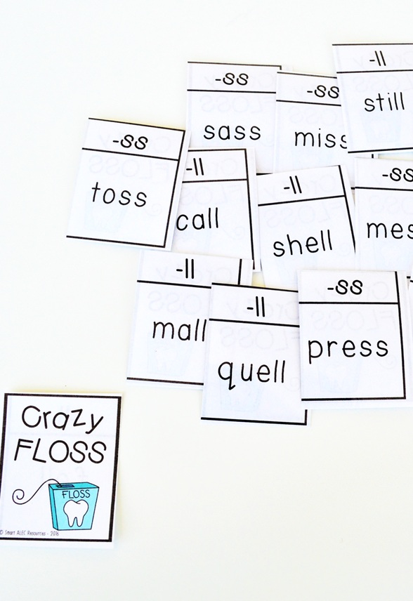 We use our crazy floss game to support instruction in phonological awareness, phonics, vocabulary, reading fluency and reading comprehension. You can also use it to support writing! The Big 5 of reading (also known as the 5 Core Components) are crtiical for student success, but you don't need a ton of resources to be able to hit on all of them!