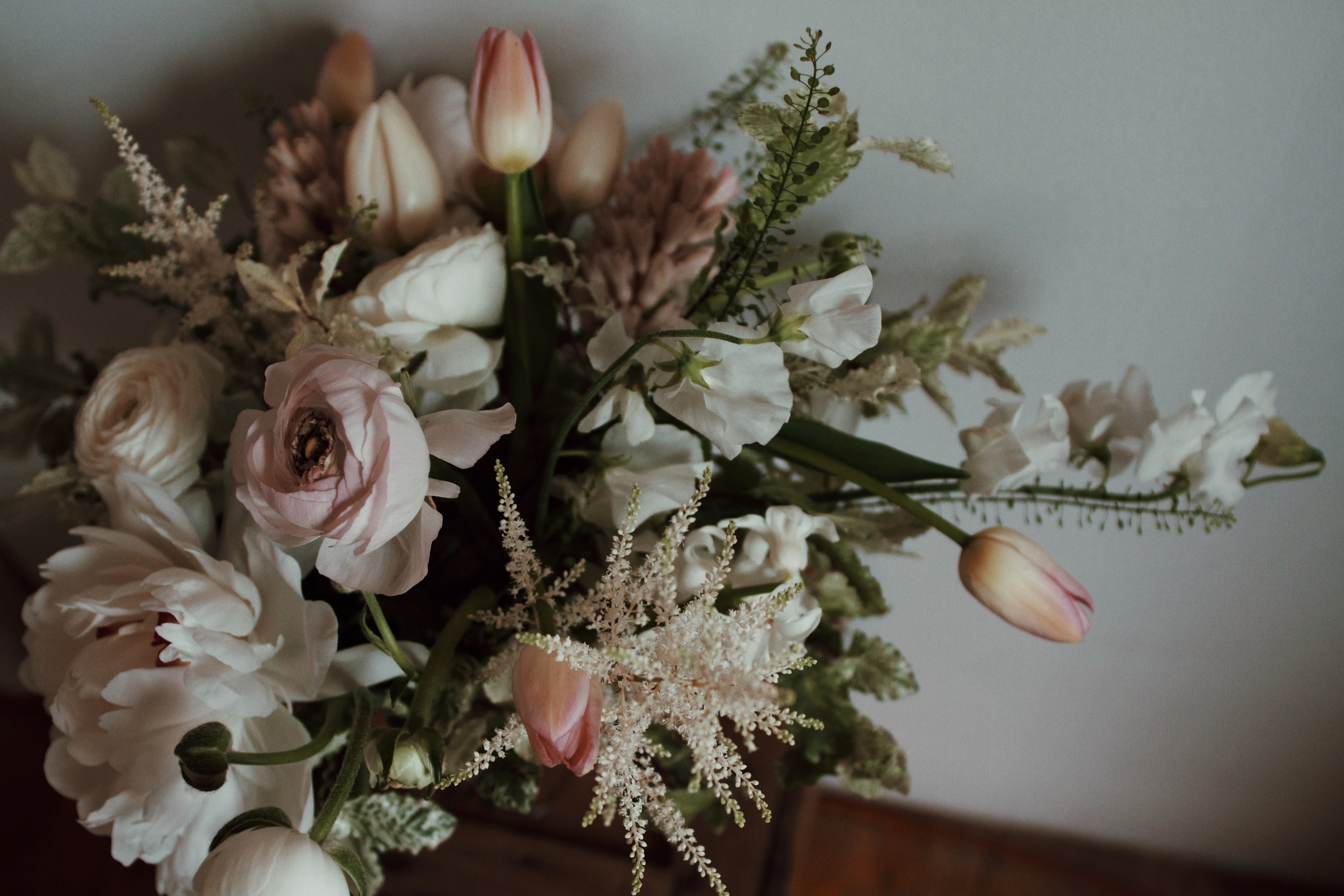 Tis the season for a romantic palette.
