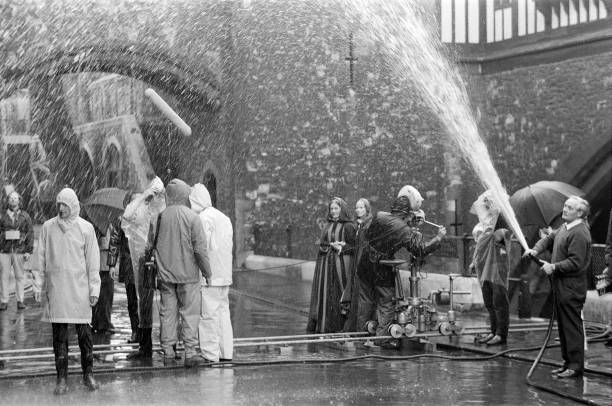 rain filming