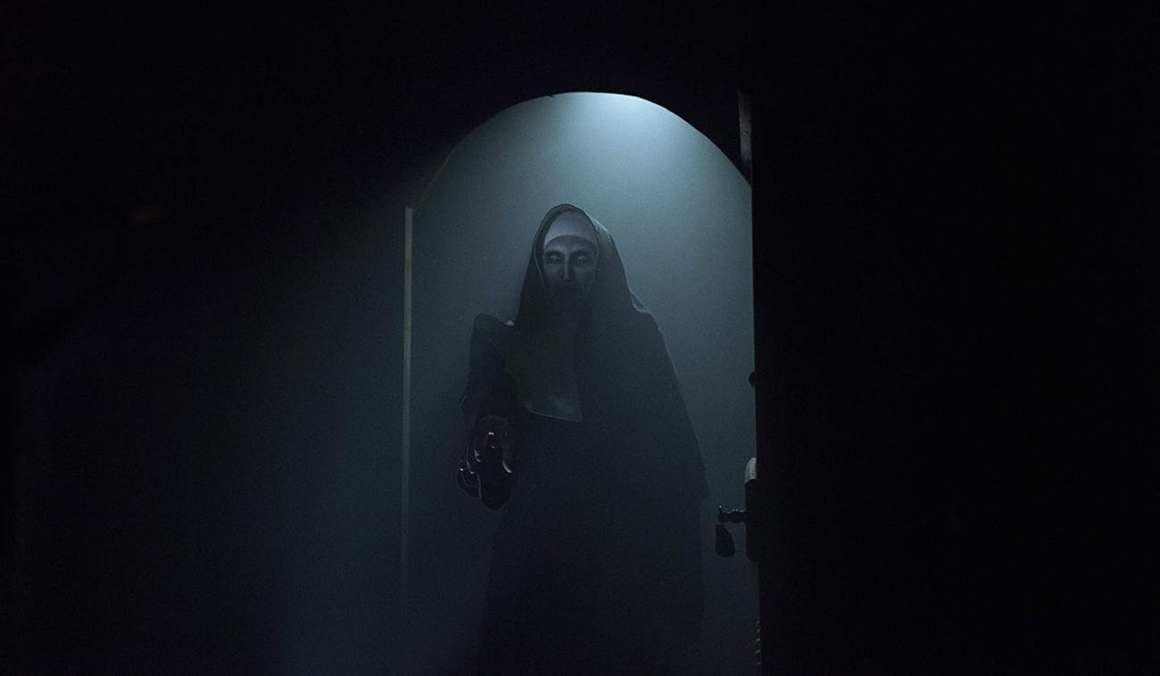 the nun horror cinematography